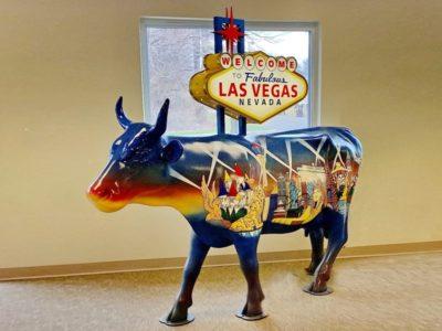 Welcome to Fabulous Las Vegas 歡迎來到拉斯維加斯牛