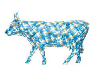 Vaca Tejida Encada - Ribbon Candy 緞帶糖牛